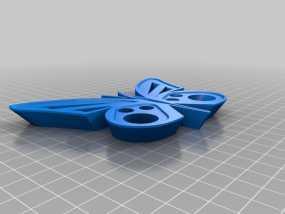 蝴蝶模型 3D模型