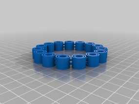 我的定制手环 3D模型