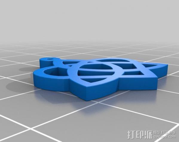 凯尔特之心 3D模型  图1