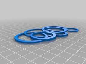 项链坠 3D模型