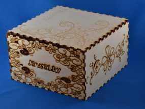 首饰盒 3D模型