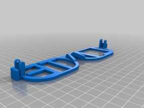 iLITE字母眼镜 3D模型