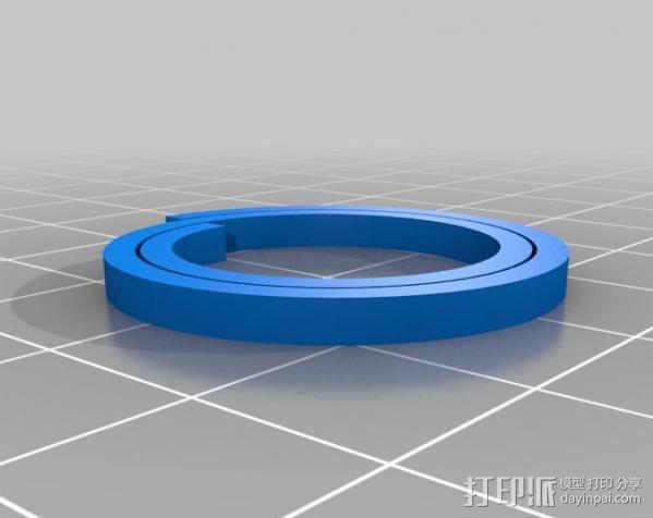 定制螺旋器 3D模型  图2