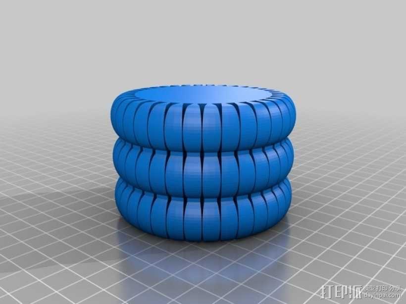 劳拉的手环 3D模型  图1