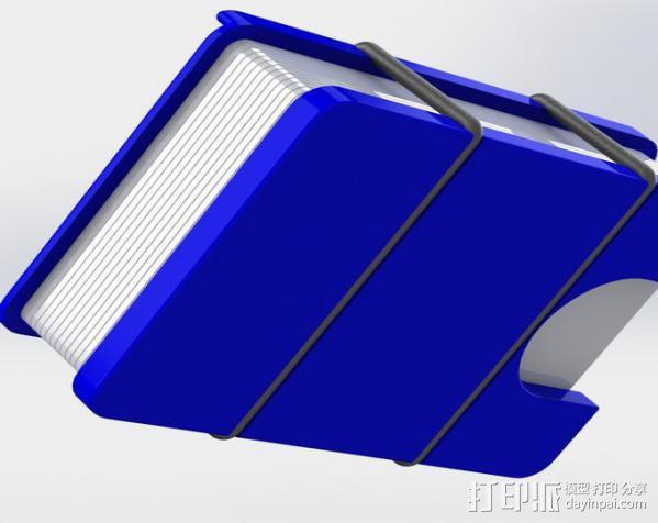 极简主义钱包 3D模型  图4