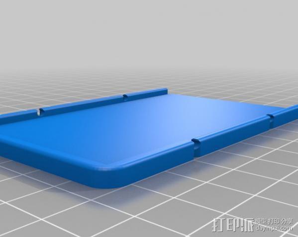 极简主义钱包 3D模型  图2