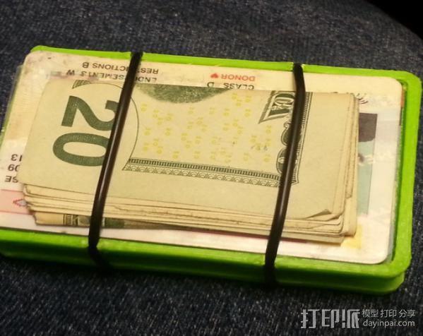 极简主义钱包 3D模型  图5