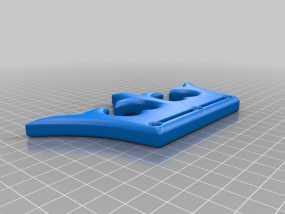 击倒王钥匙扣 3D模型