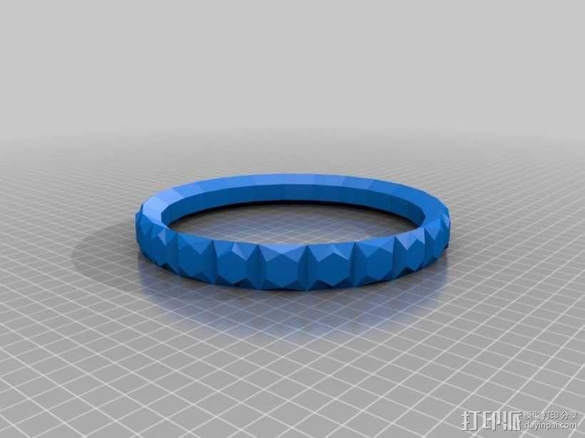 简易手环 3D模型  图1