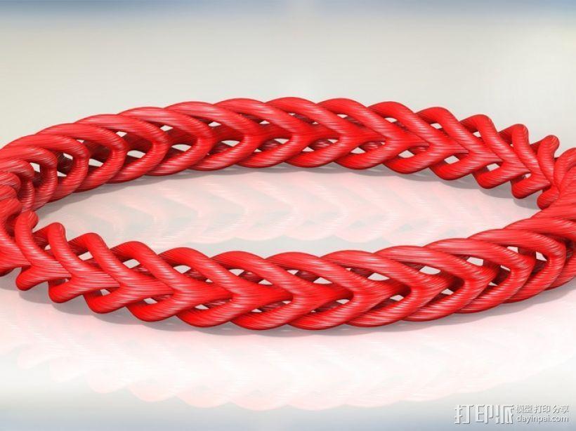 编织结构环 3D模型  图5