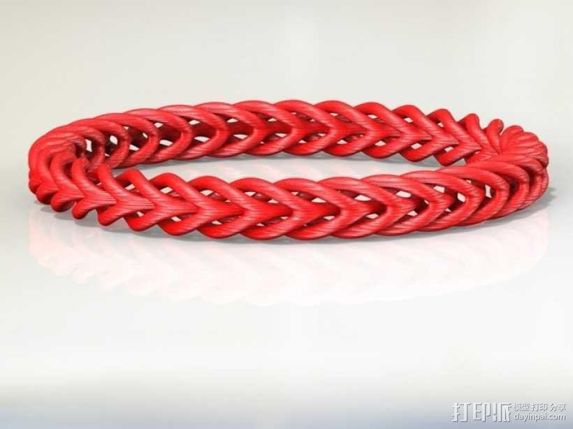 编织结构环 3D模型  图4