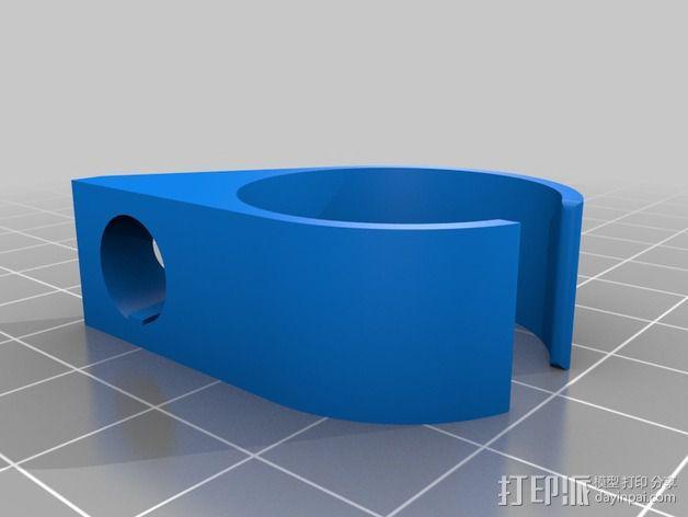 香烟手套夹 3D模型  图2