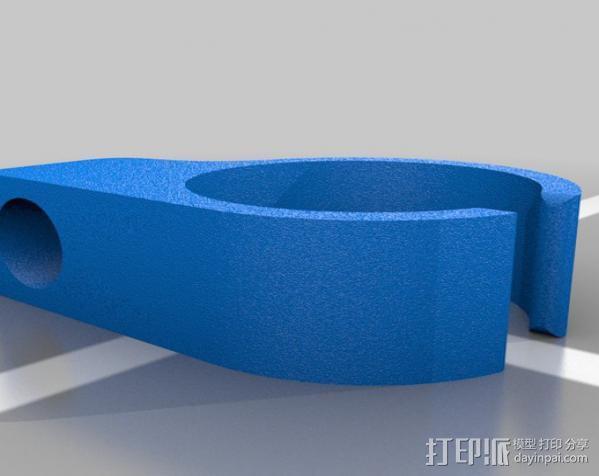 香烟手套夹 3D模型  图4