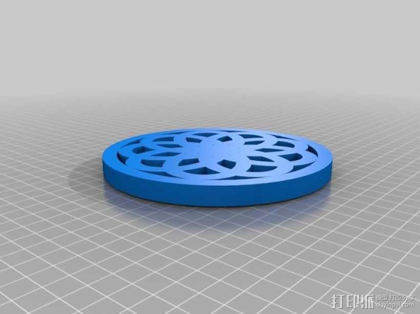 荣耀圈 3D模型  图1