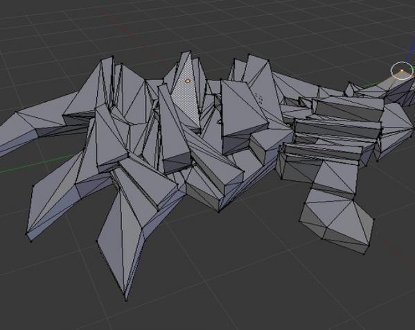 建筑型挂件 3D模型  图2