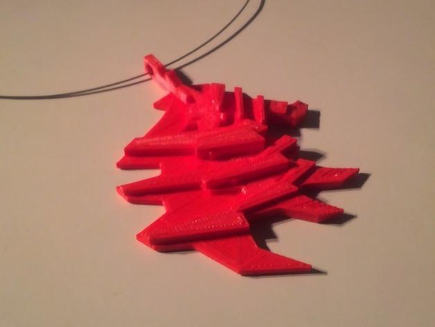 建筑型挂件 3D模型  图3