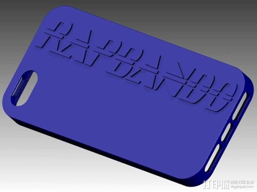 Iphone 5 外壳 3D模型  图1