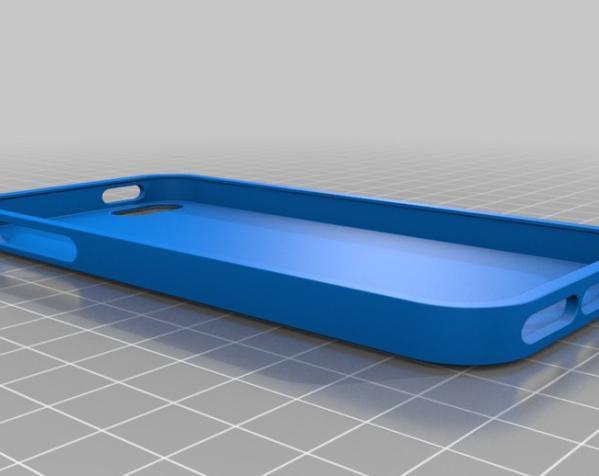 Iphone 5 外壳 3D模型  图2
