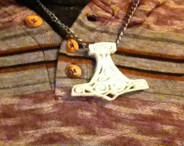 雷神之锤 项链 3D模型  图3
