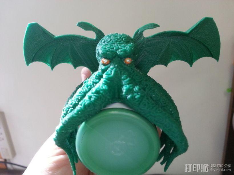 邪神 之翼 3D模型  图3