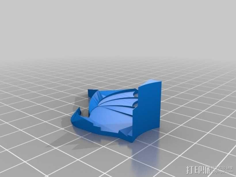 邪神 之翼 3D模型  图2