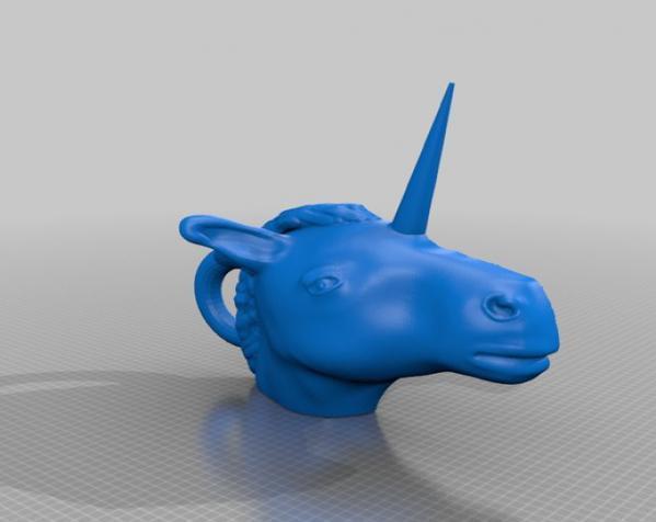 独角兽 3D模型  图2