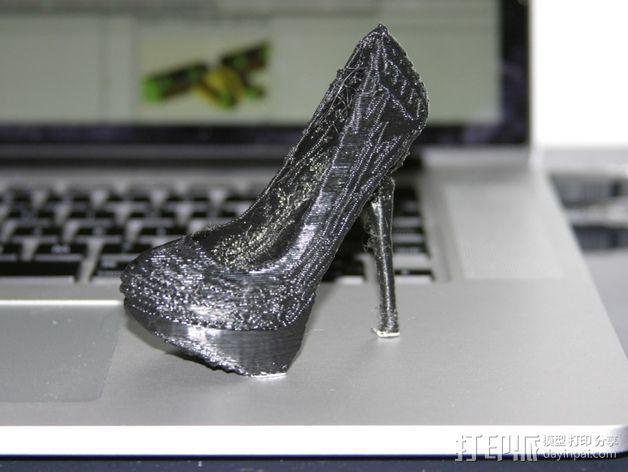 高跟鞋 3D模型  图2