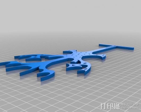 珠宝之树 3D模型  图2