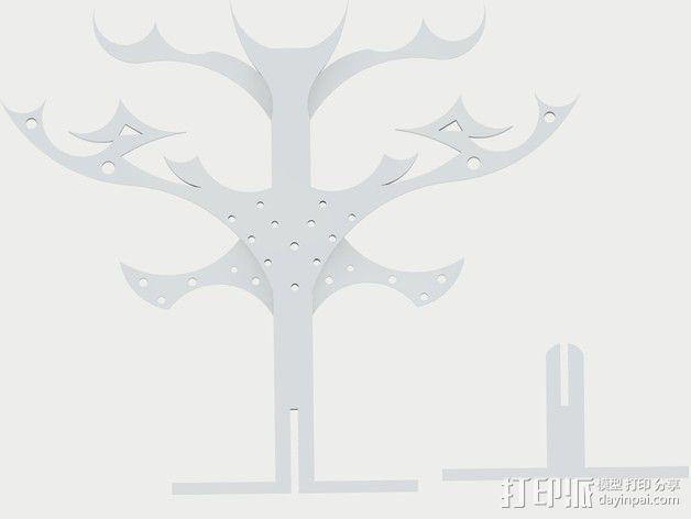 珠宝之树 3D模型  图3