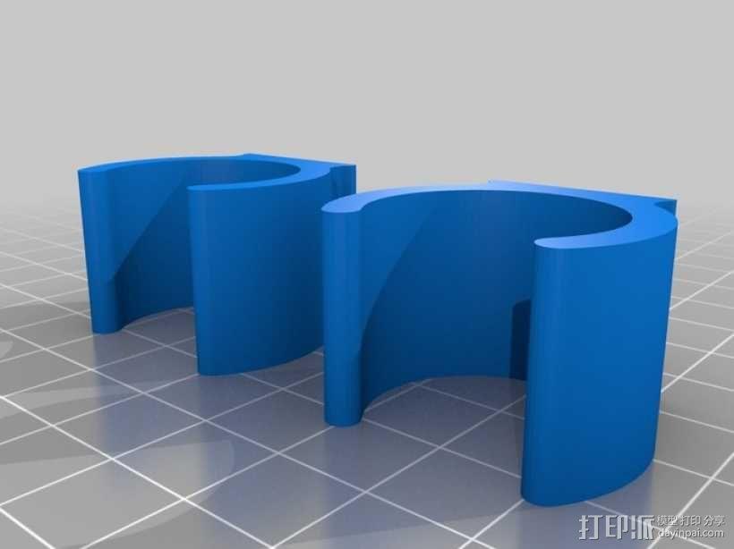 翅膀拐杖 3D模型  图4