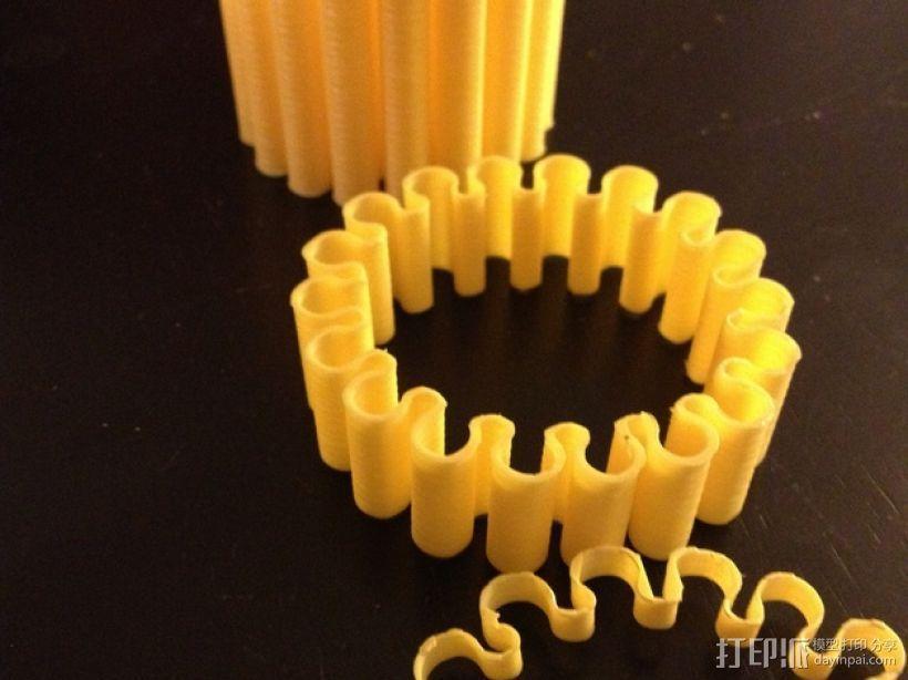 灵活的手环 3D模型  图1
