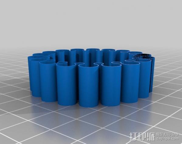 灵活的手环 3D模型  图2