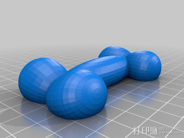 PeePee颈骨 3D模型  图2
