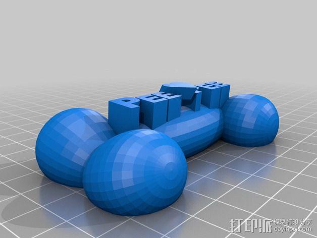 PeePee颈骨 3D模型  图1