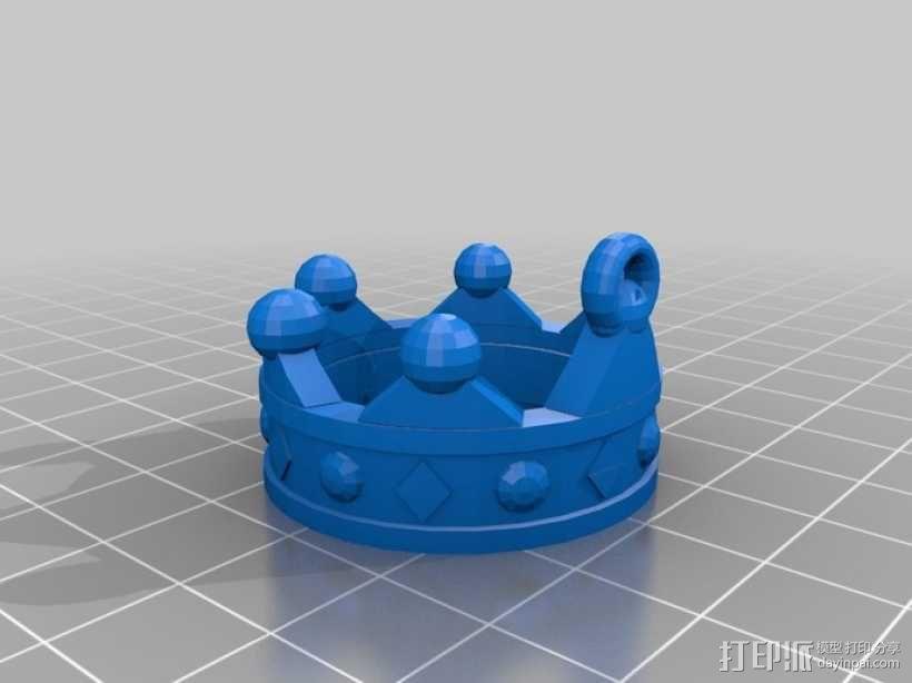 皇冠项链 3D模型  图2
