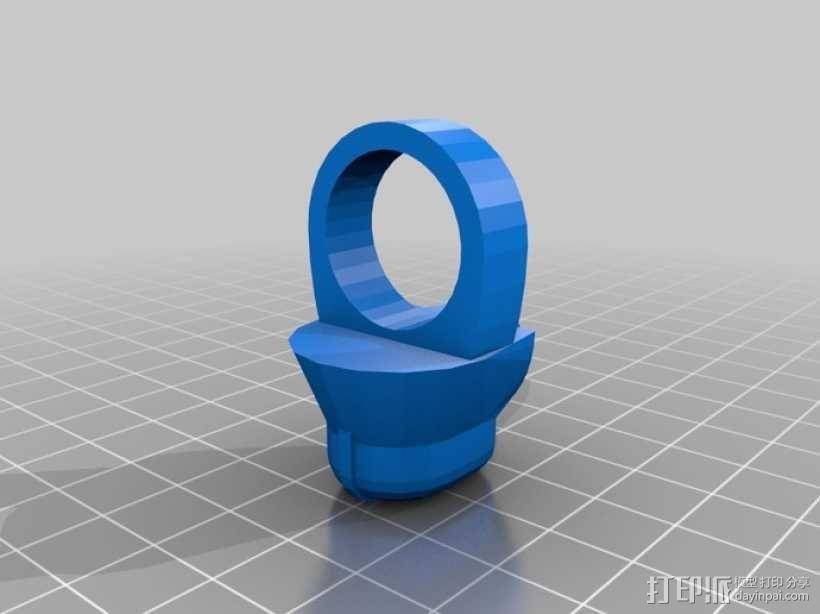 达斯维德的戒指 3D模型  图1