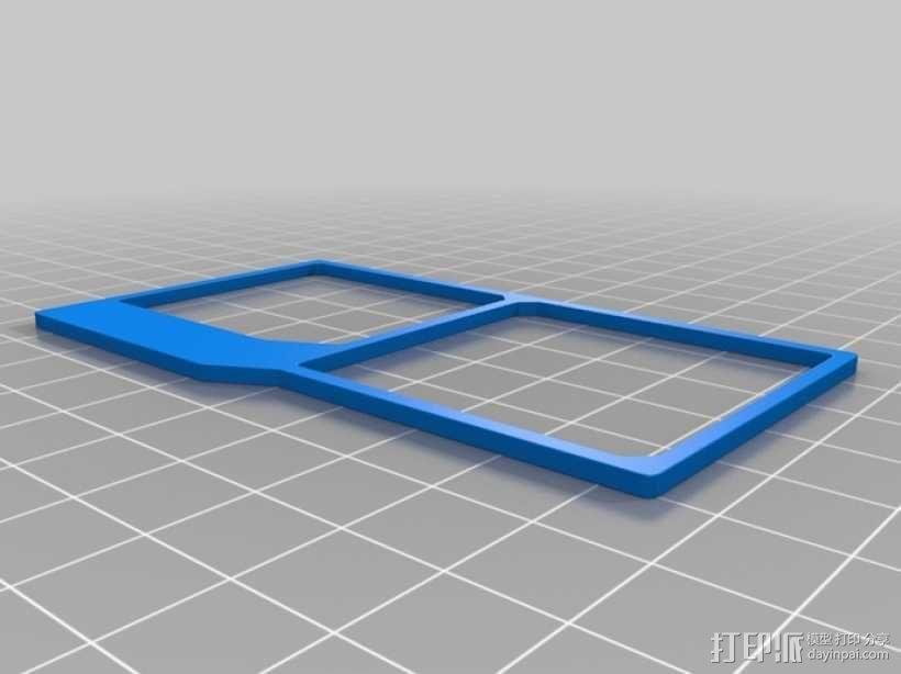 UNSC身份卡 3D模型  图1