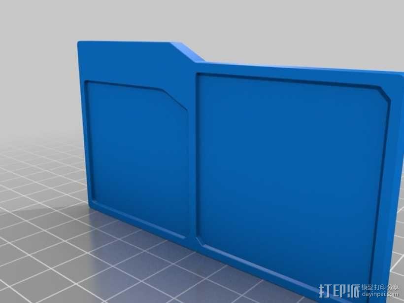 UNSC身份卡 3D模型  图2