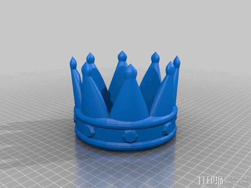 皇冠 3D模型  图1