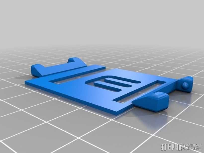 ipod 6适配器 3D模型  图1