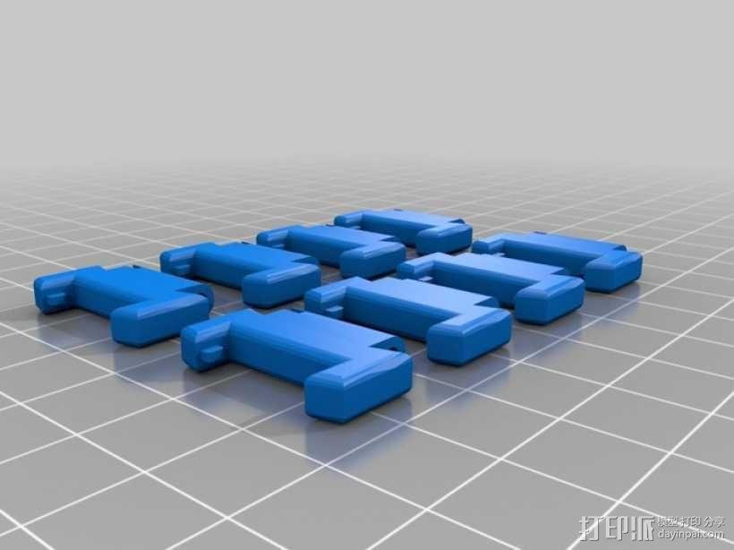 ipod 6适配器 3D模型  图4