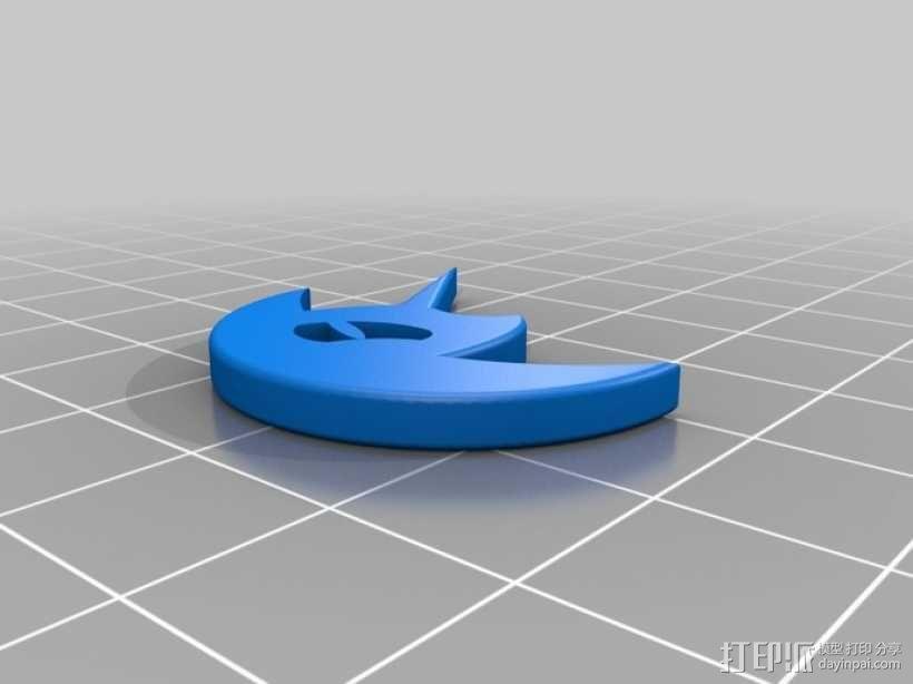 噩梦之月 3D模型  图1