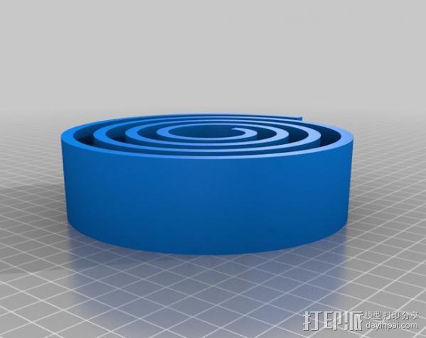 漂亮的尼龙皮带 3D模型  图1