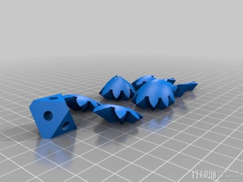 傲娇的齿轮心 3D模型  图1