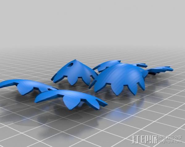 傲娇的齿轮心 3D模型  图2