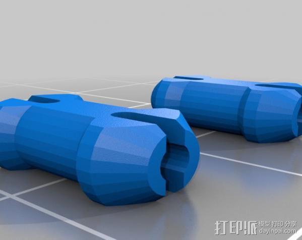 傲娇的齿轮心 3D模型  图3