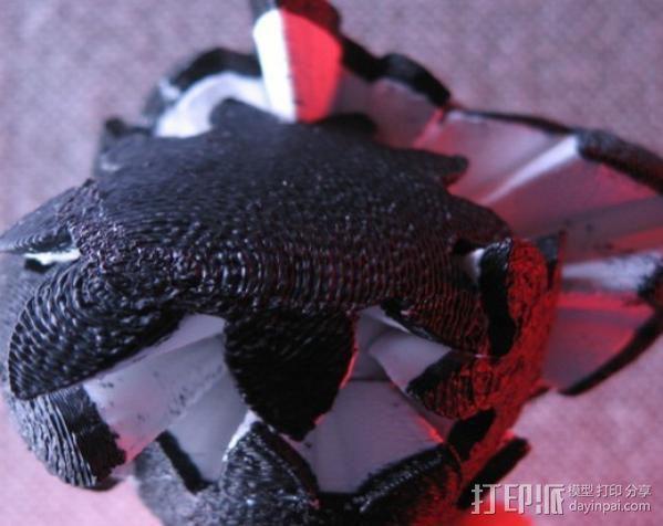 傲娇的齿轮心 3D模型  图6