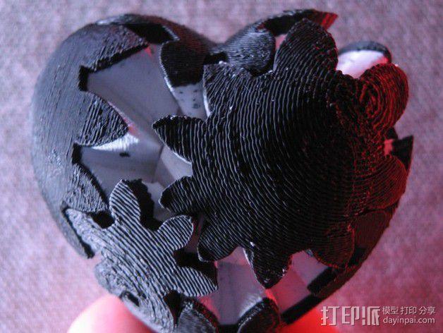 傲娇的齿轮心 3D模型  图4