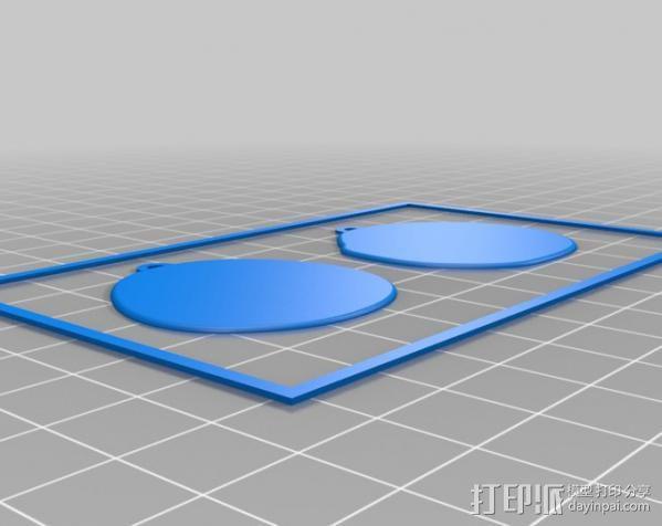 杰克耳环 3D模型  图4