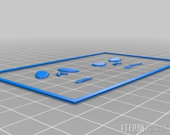 杰克耳环 3D模型  图5